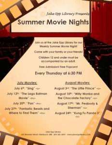 Summer Movie General Poster 2017