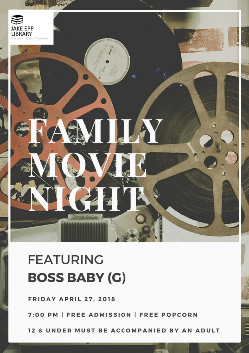 Boss Baby Movie Night April 2018