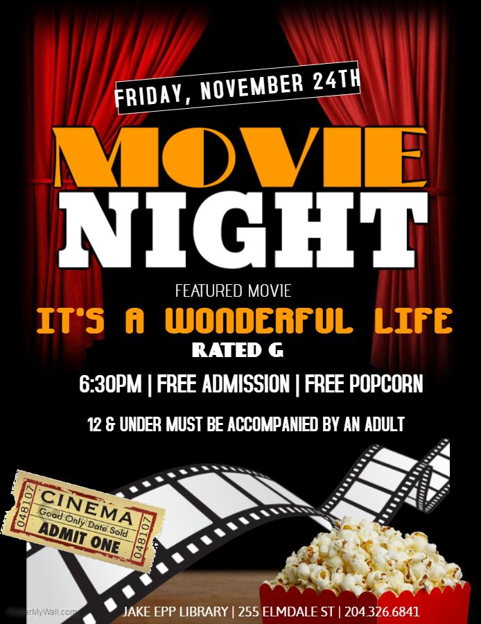 Its A Wonderful Life Movie Night
