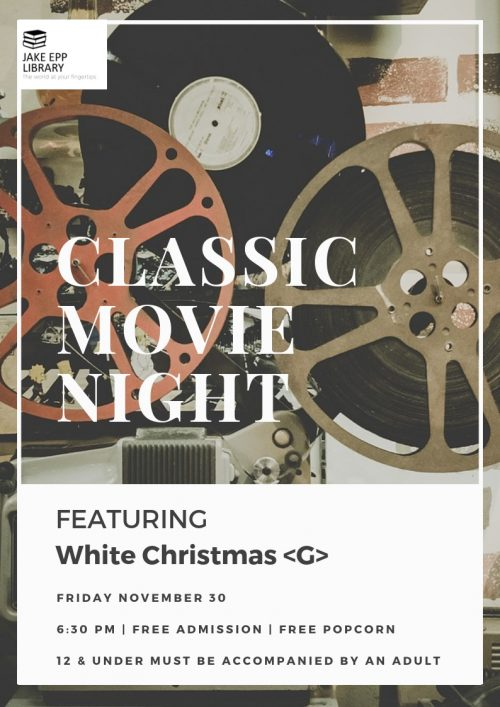 White Christmas Classic Movie Poster 2018