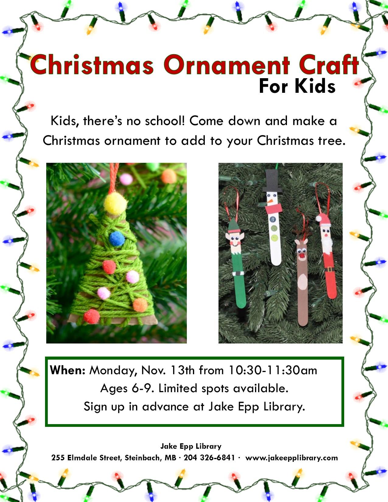 christmas ornament 2017 poster