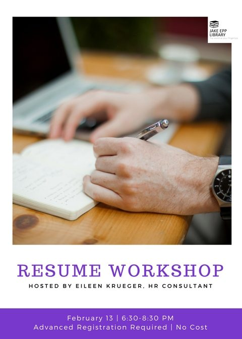 Resume Workshop 2018