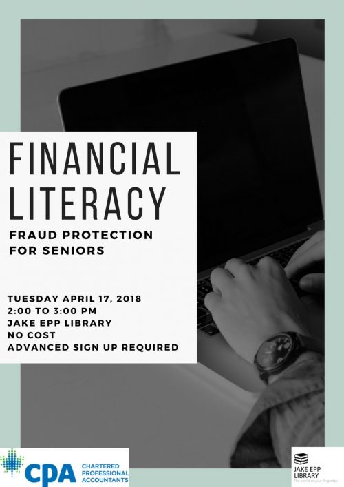 Financial Lit Fraud Protection April 2018
