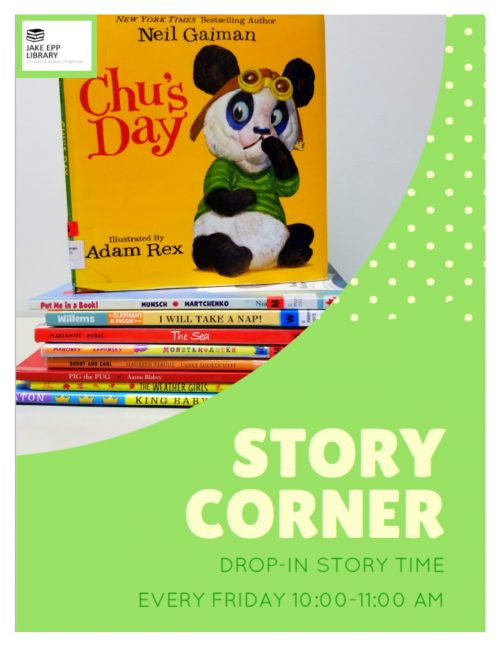 Story Corner Poster
