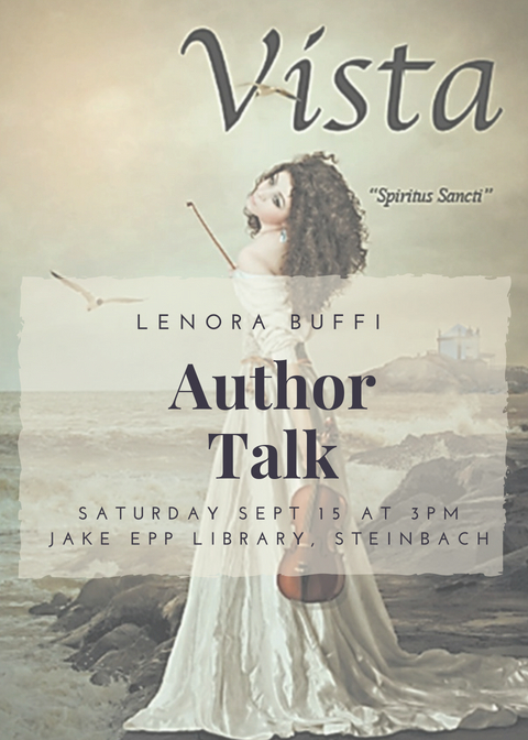 Lenora Buffi Author Talk Poster 2018