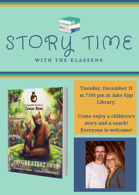 Storytime with the Klassens