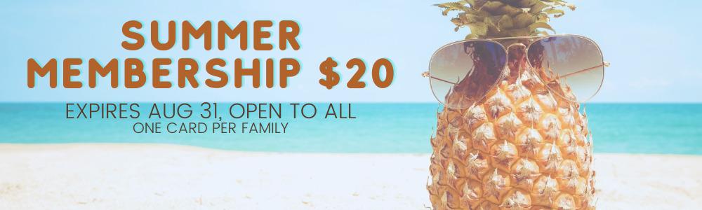 Summer Membership Slide