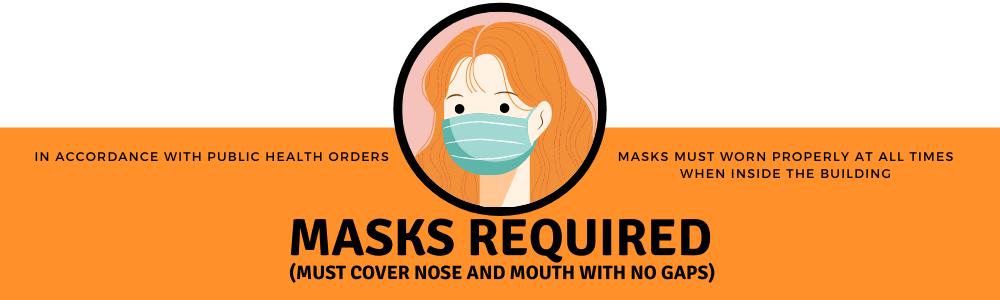 Masks Required Slide